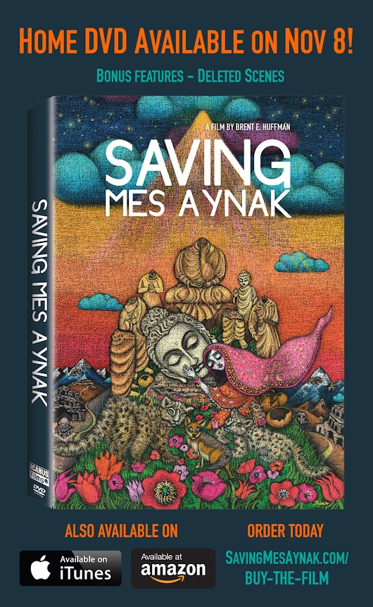 Saving Mes Aynak on Netflix and End-of-Year Updates!