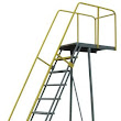 Cantilever Rolling Ladder | Rolling Staircase