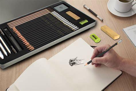 pcs professional drawing supplies set sketch pencil art
