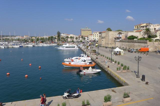 Alghero's Yachthafen