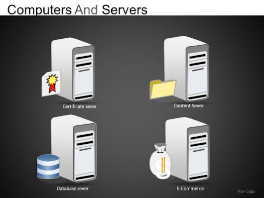 Computers And Servers Powerpoint Presentation sldes db