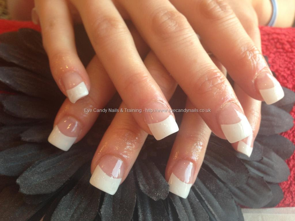 White tip acrylic with gel Yelp - Nail Art Design Ideas Collection