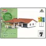Model Power 1596 N Service Station & Mart Building Kit