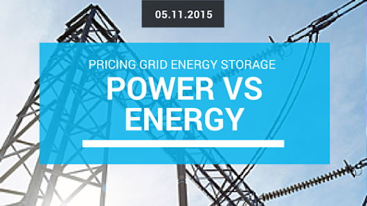 Should energy storage costs be $/kWh or $/kW?