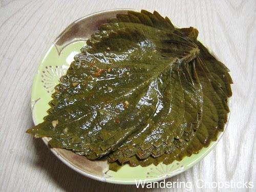 Gaennip Kimchee 1