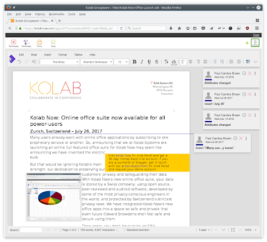 Kolab Now: Online office suite now available for all power-users