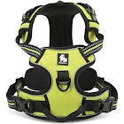 Truelove Reflective Dog Harness, Adjustable Pet Vest, Comfortable and Soft Mesh Materials (XS, Green)