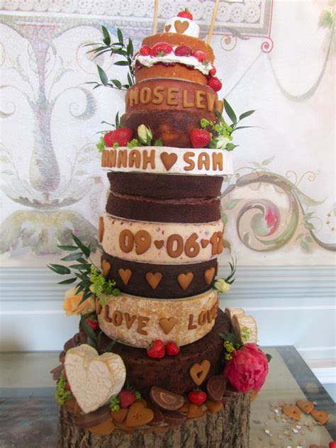 Cheese and Cake Wedding Tower   Frances Quinn