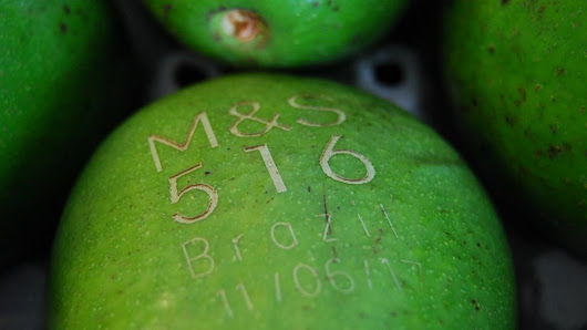M&S says labelling avocados with lasers is more sustainable - BBC News