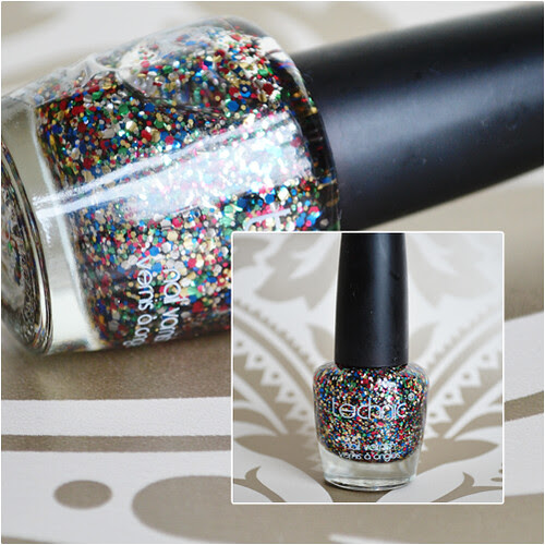 Technic Carnival glitter nail polish