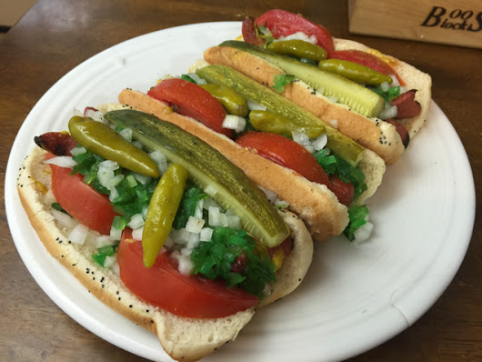 Chicago Style Hot Dog Recipe