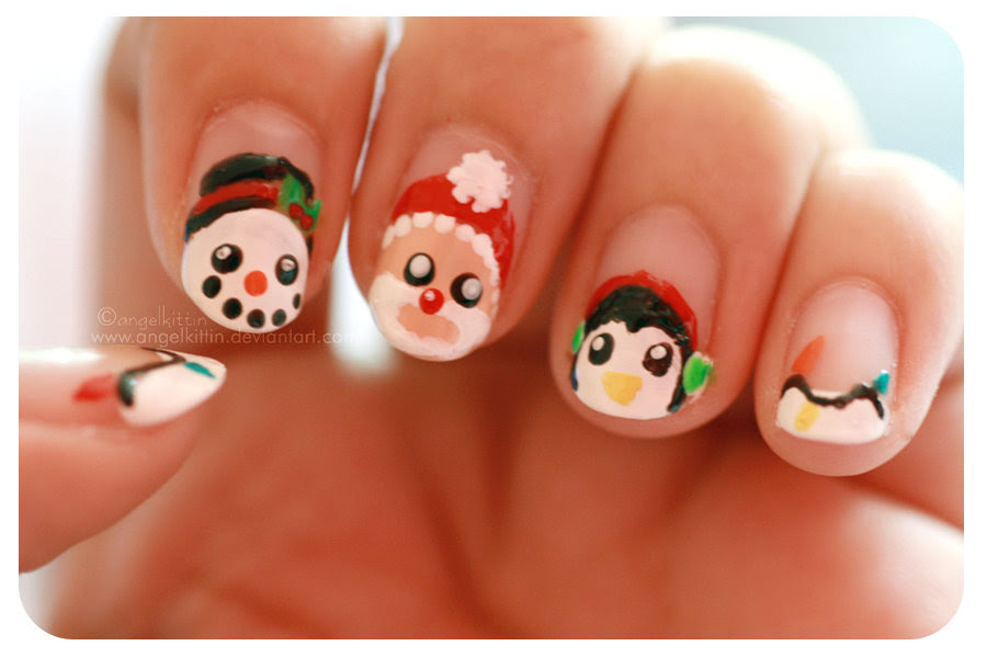 The 20 Best Christmas Nail Designs For You Easyday - Nail Art Design ...
