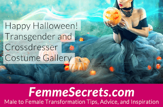 Transgender and Crossdresser Halloween Costume Gallery