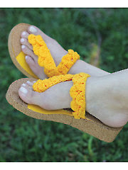 Crocodile Stitch Sunny Sandals - Electronic Download