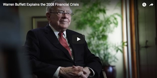 Warren Buffett: 10 years after the financial crisis 2008