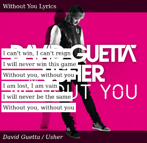I Will Never Win This Game Without You Lyrics