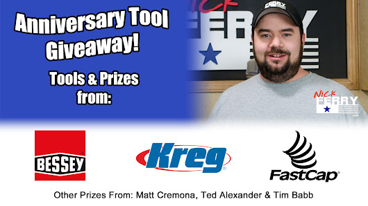 » Anniversary Tool Giveaway