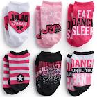 Nickelodeon Girls' JoJo Siwa Socks, Black/Pink, S/M - 6 pairs