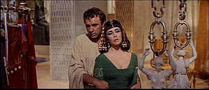 Cropped screenshot of Richard Burton and Eliza...