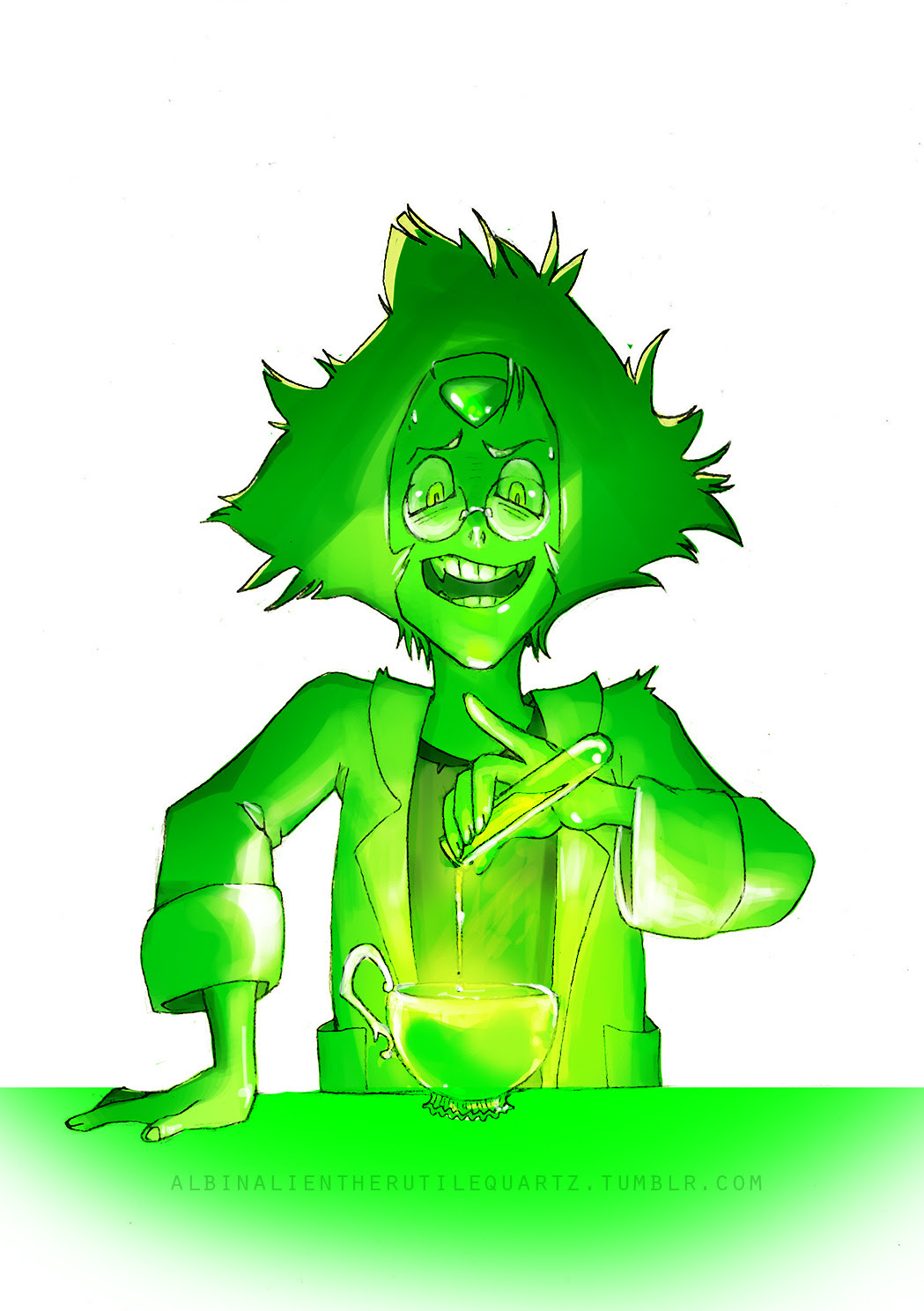 17# day - MAD SCIENCE MONDAY / Peridot