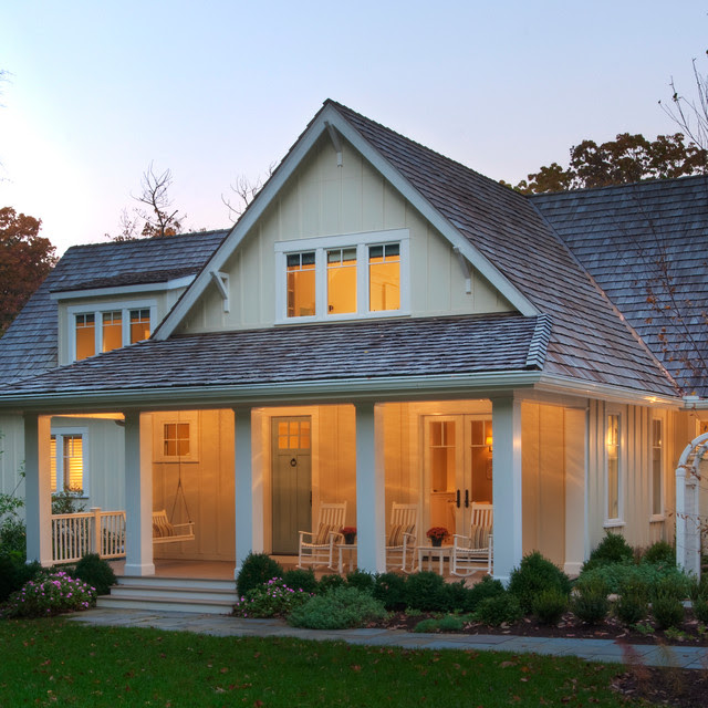 Lakeside Family Cottage  Beach Style  Exterior  dc metro  by Barnes Vanze Architects, Inc