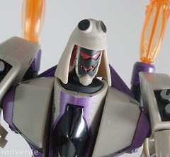 Transformers Blitzwing Animated Voyager - modo robot