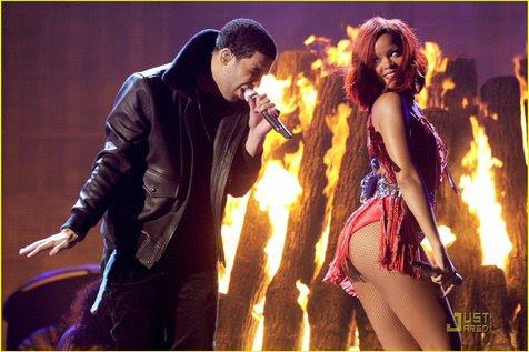 Rihanna - Drake @foto: justjared.com