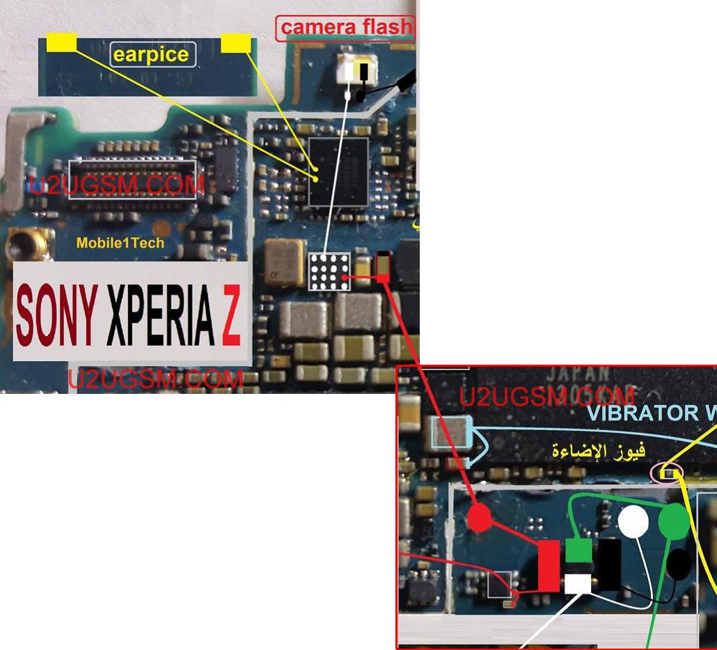 Sony Xperia Z C6602  Speaker Solution Jumper Problem Ways Earpeace