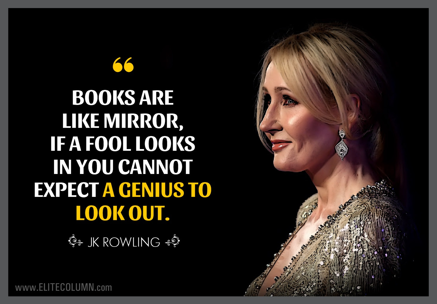10 Best JK Rowling Quotes To Achieve Your Dreams  EliteColumn