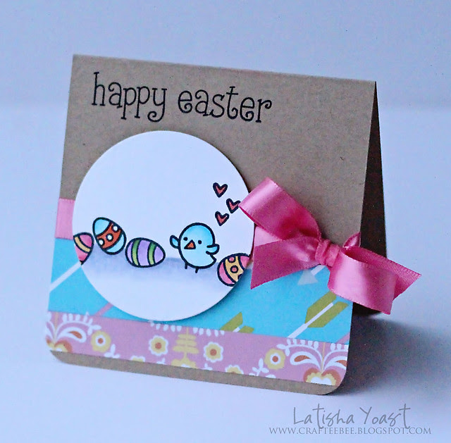 LawnFawn happyeaster lyoast