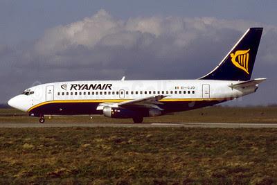 Ryanair Boeing 737-204 EI-CJD (msn 22966) DUB (SM Fitzwilliams Collection). Image: 911738.