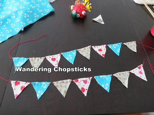 How to Sew Cake Bunting 5