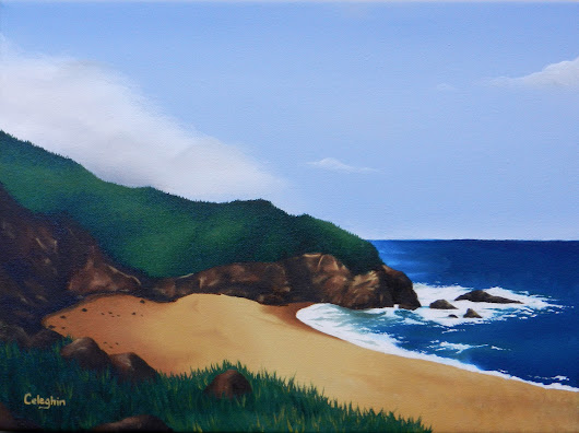 Northern California Landscape - Montara Beach