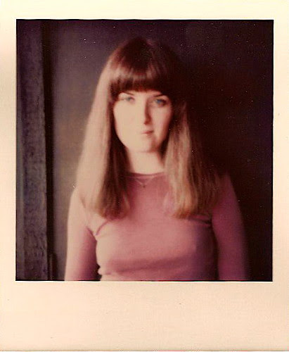 Faded Polaroid of Ann from October 1976