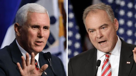 Pence Gets Bonus Points for not Throat-Punching Kaine