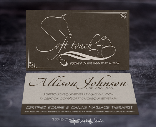 Soft Touch Business Cards | Spiderfly Studios
