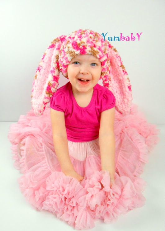 Bunny Hat Photo Props Cute Easter Clothes Hats for Kids by YumbabY