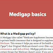 Three Steps to Signing Up for a Medigap Plan