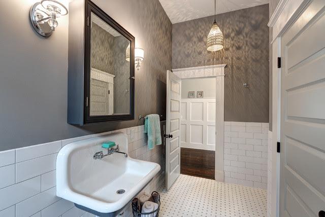 Queen Anne Bungalow Resurrection - Victorian - Bathroom ...
