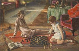 The Chess Players - John Lavery