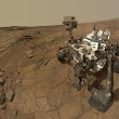 NASA - Curiosity Rover's Self Portrait at 'John Klein' Drilling Site, Cropped