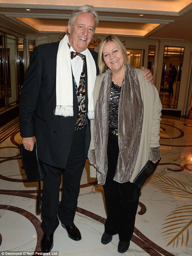 Rumours of a split: Michael Mansfield, 73, with his second wife, the artist Yvette Vanson, 65