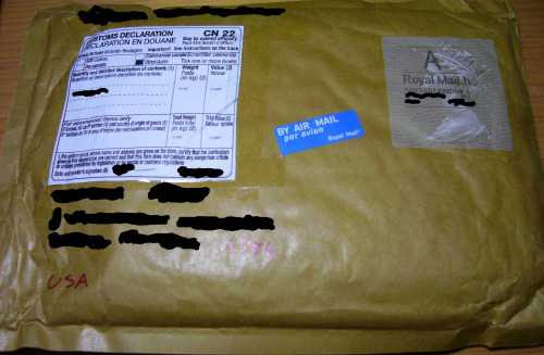The Modalert package as received