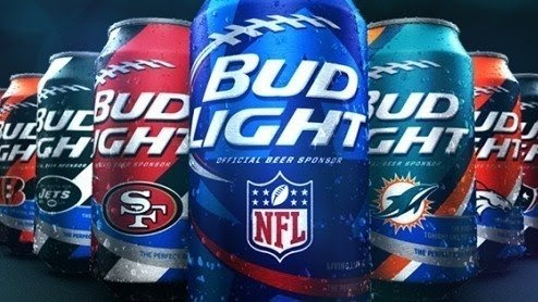 NFL Watching Beer Drinkers, NFL, Anheuser-Busch InBev, Beer Drinking NFL Watchers: Convince Bud Light to sell NFL team cans to out-of-market fans