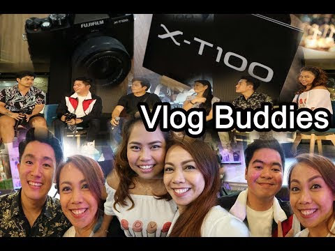 FujiFIlm Launched X-T100 together with Vlog Buddies at SM City Cebu Philippines