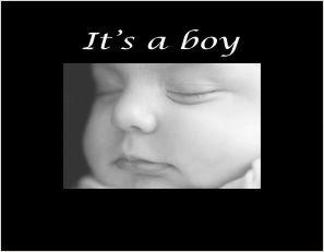 Its A Boy Photo Frame Athena Posters
