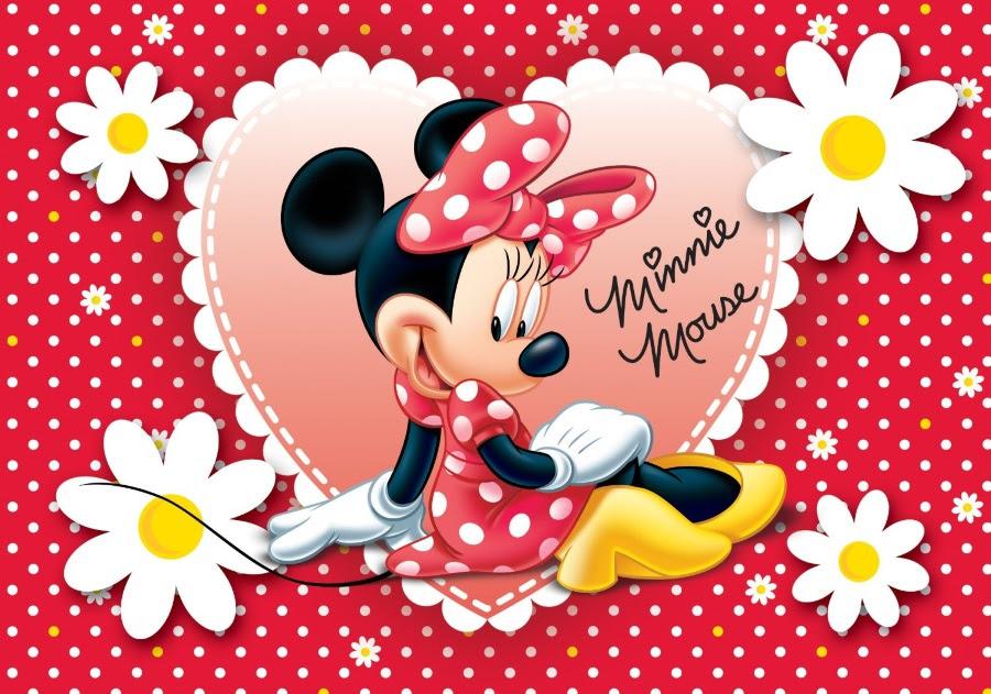 Coloriage Minnie Et Dessin Minnie à Imprimer Avec Mickey