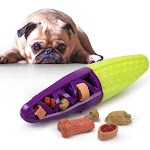 Fluffy Paws Interactive Squeaky Pet Toy Chewing Toy for Dental Health Stick Red/Green