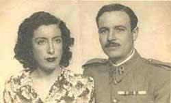 juana Rodríguez y José Pozo en La Unión.