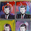 artnet Galleries: JFK by Peter Max from RoGallery.com